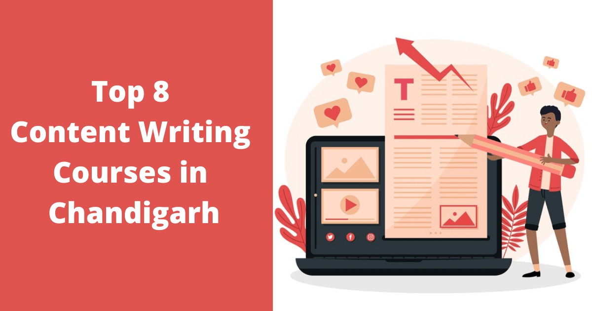 Top 8 Content Writing Courses in Chandigarh