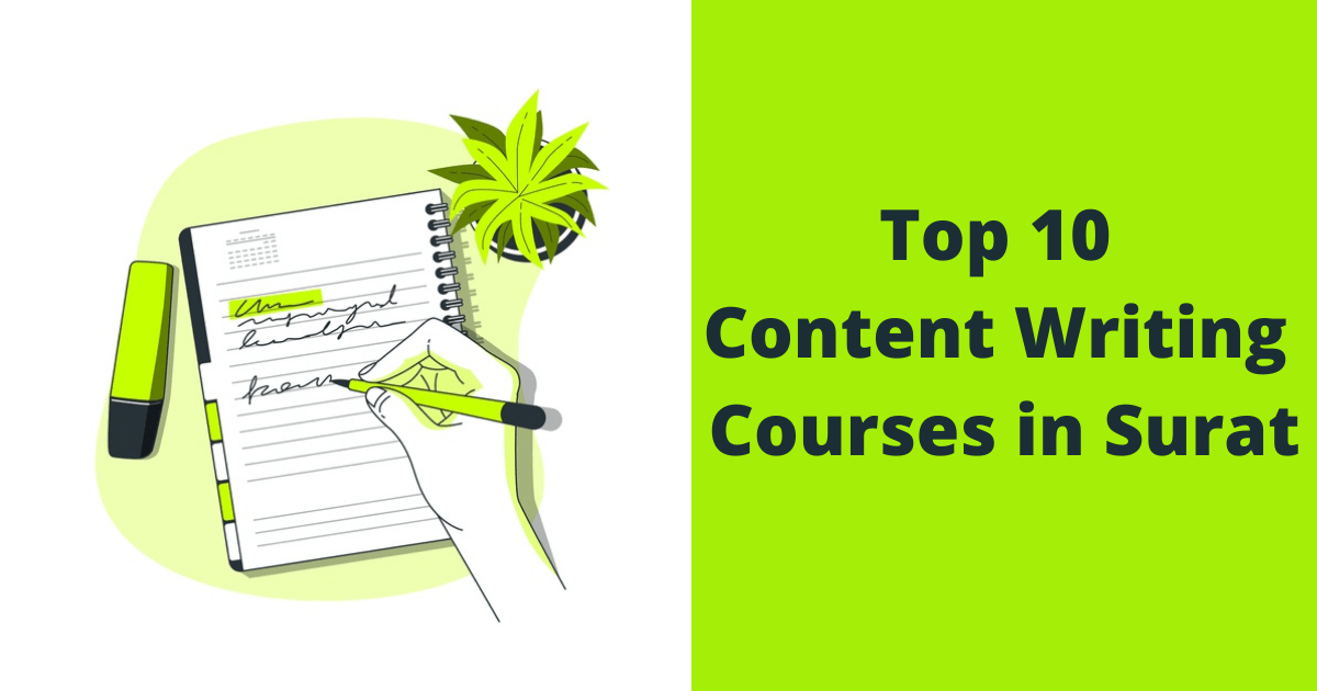 Top 10 Content Writing Courses in Surat