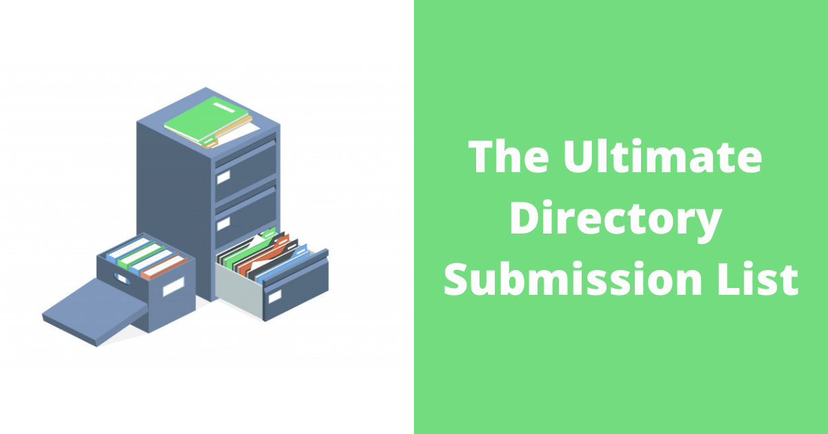 The Ultimate Directory Submission List