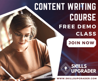 Content Writing Course Free Demo Class