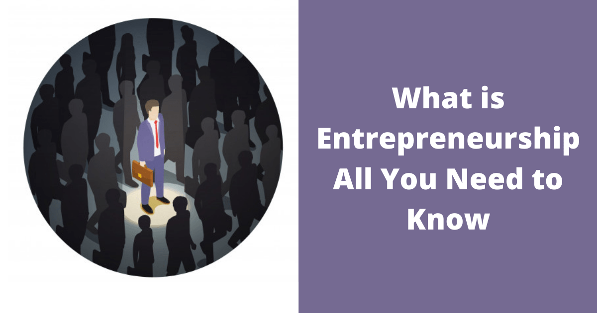 What is Entrepreneurship – All You Need to Know